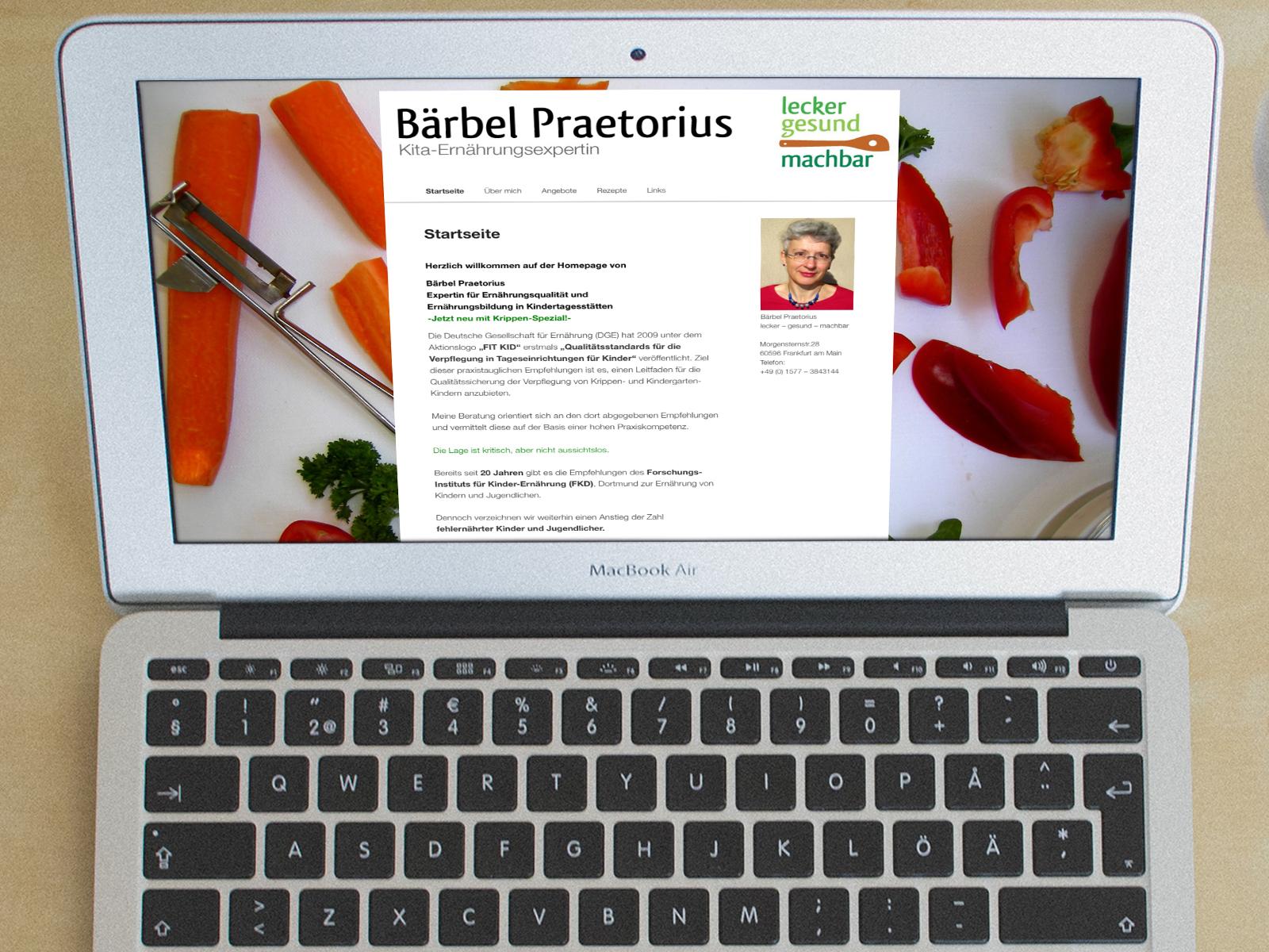 Online-Marketing Beratung Pretorius Kita-Ernährungsberatung