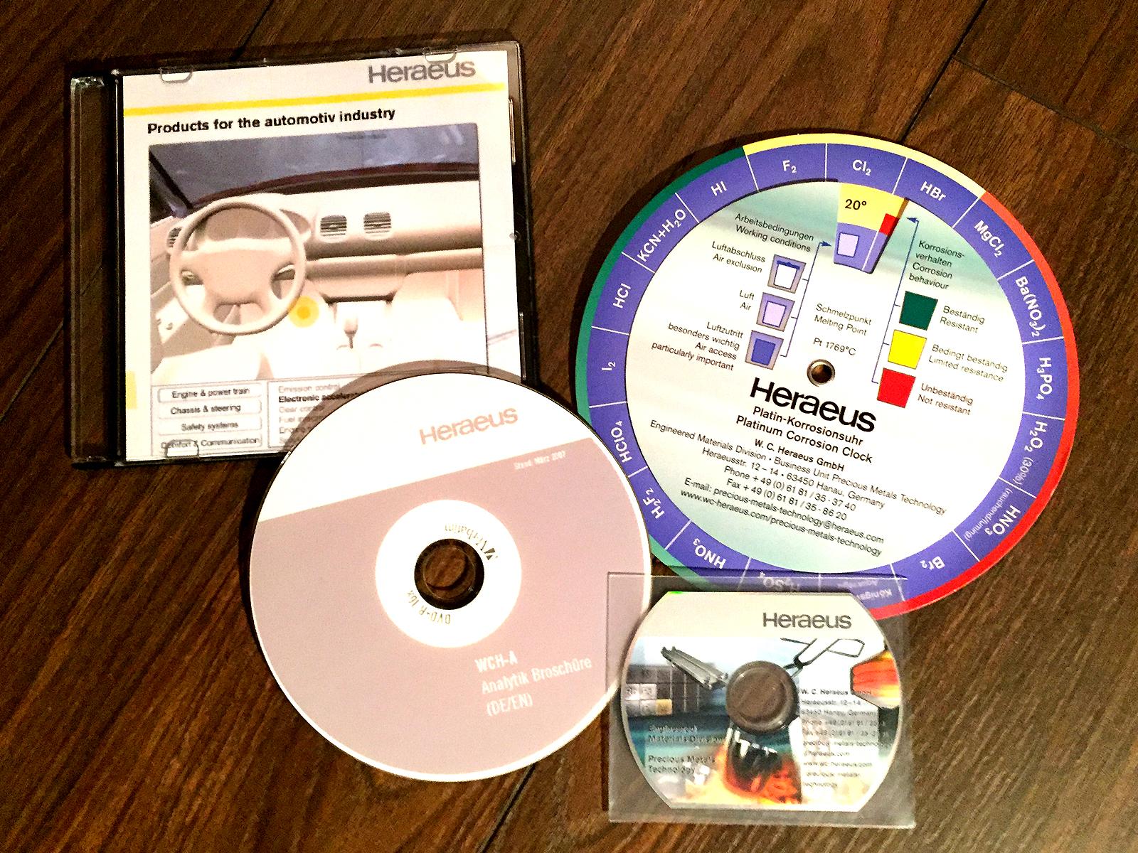 heraus Produkt Präsentationen CD