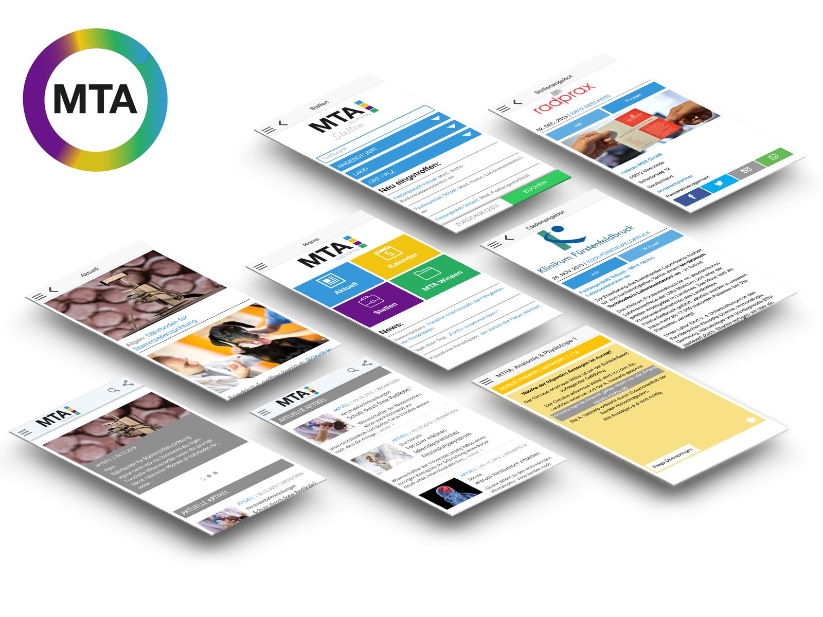 MTA-Portal App für iOS und Android