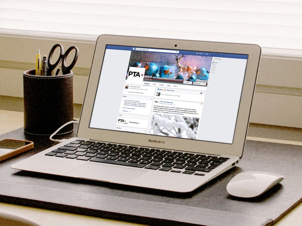 facebook: PTA in der Apotheke