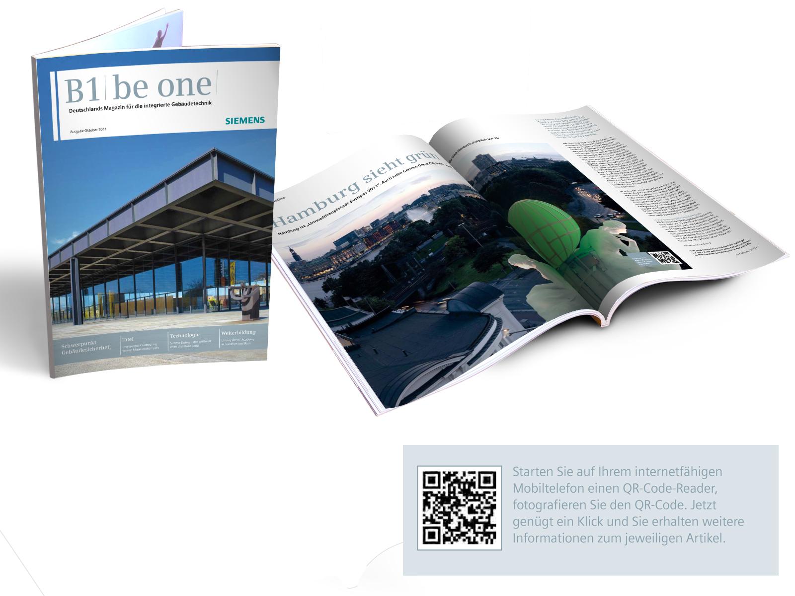 print2web: Siemens B1 mit QR-Codes