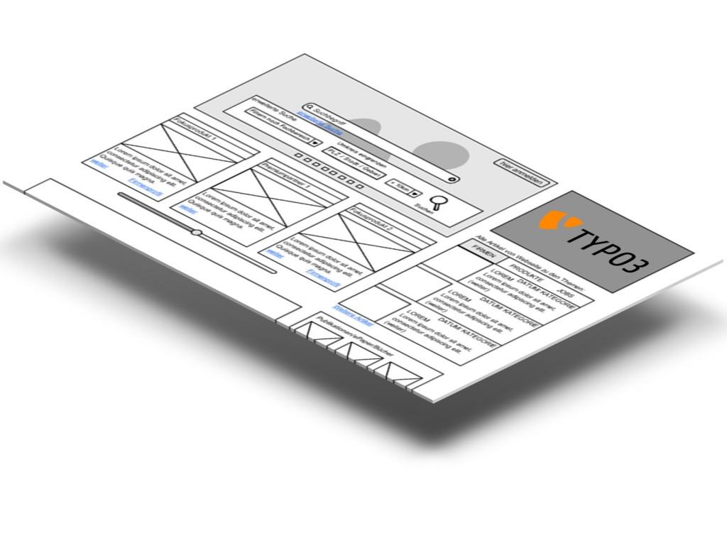 TYPO3 Mater-Website