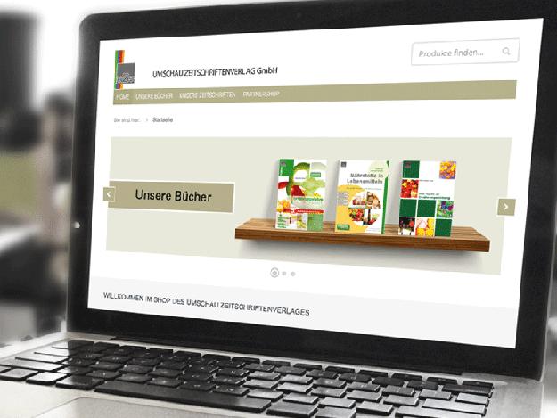 Online Shop des UMSCHAU ZEITSCHRIFTEN Verlags